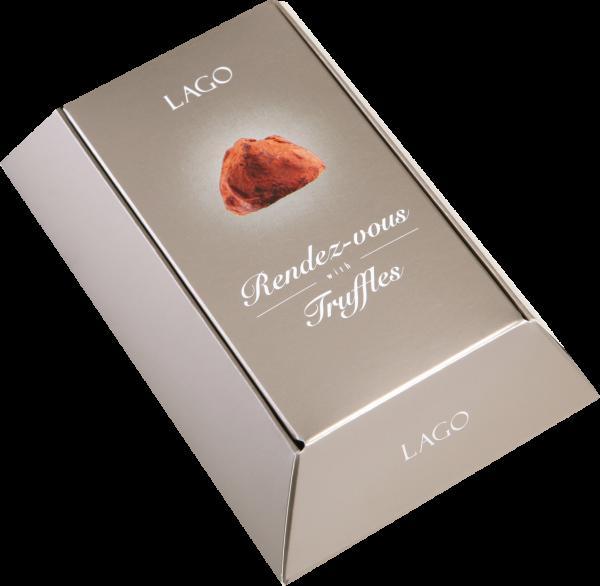 Lago Trüffel mit Schokolade 'Rendez-vous with Truffles' 100g