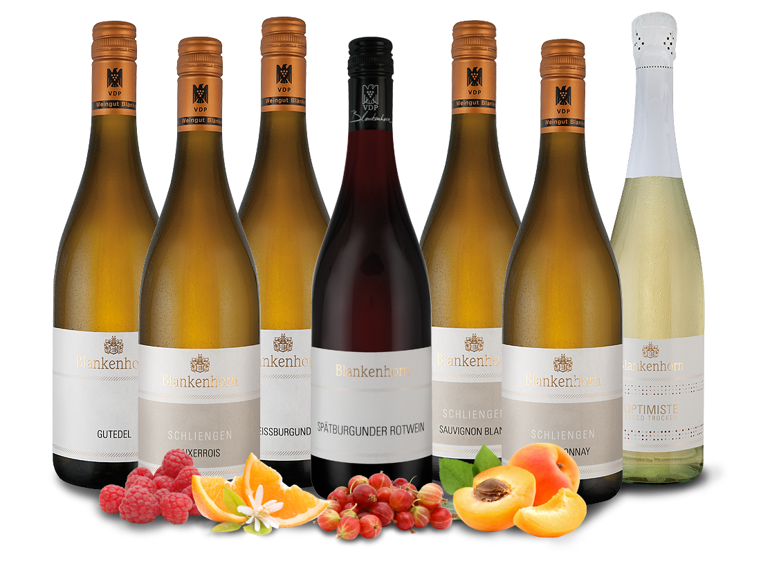 Kennenlernpaket Weingut Blankenhorn aus Baden9,...