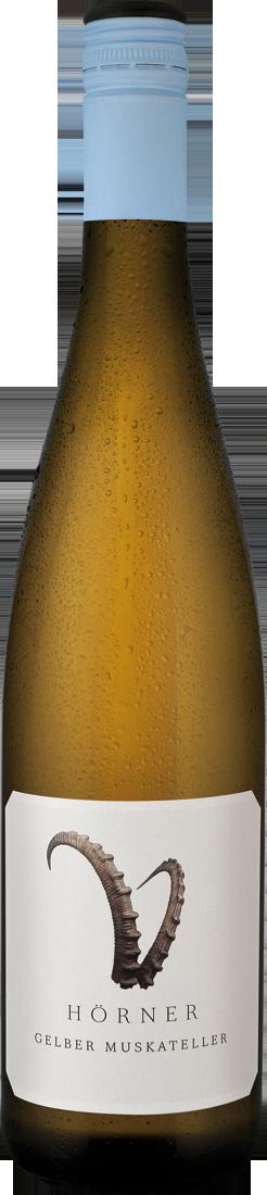 Weißwein Hörner Gelber Muskateller Steinbock Pf...