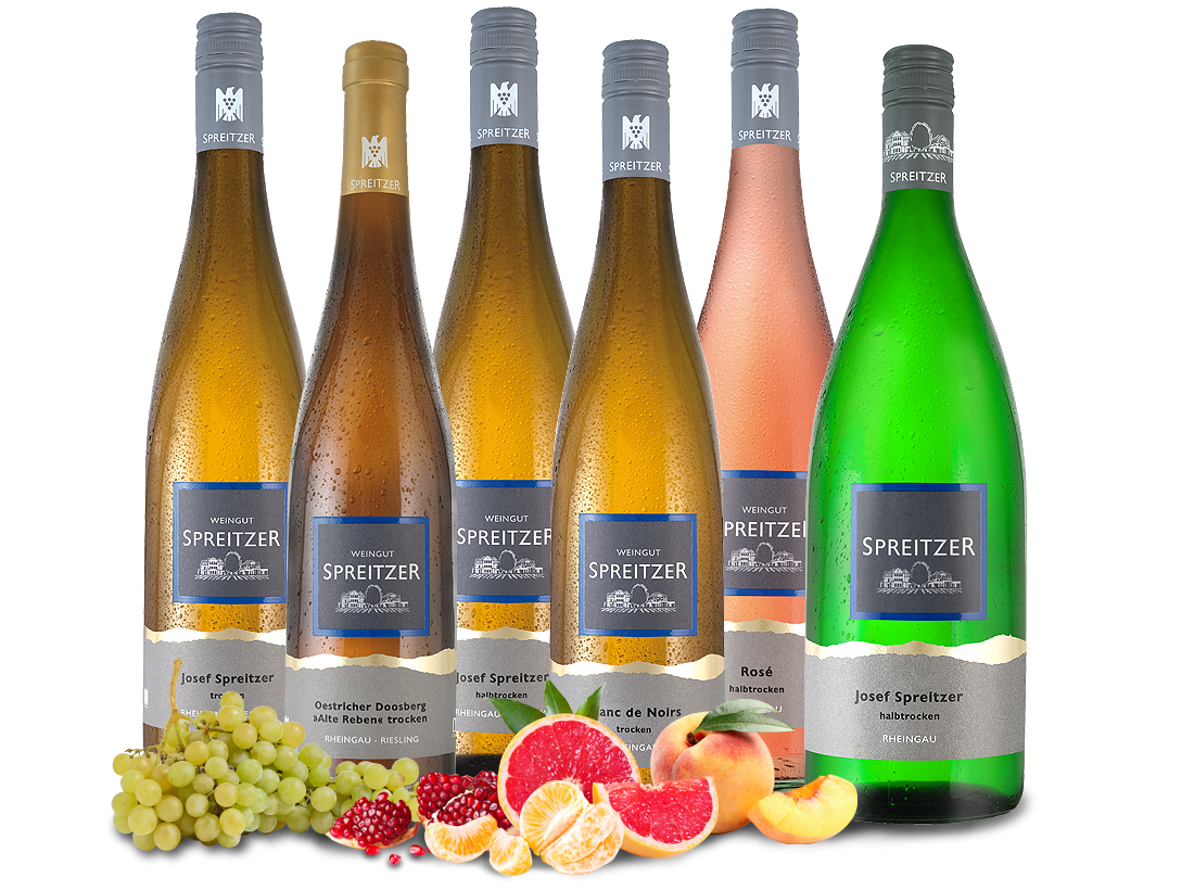 Kennenlernpaket Weingut Spreitzer aus dem Rheingau12,22? pro l