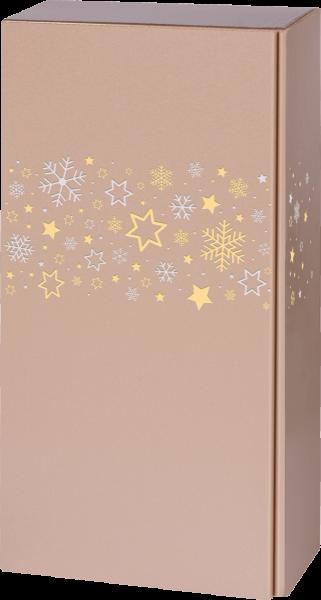 Präsentkarton ROYAL Sternenband für 2 Flaschen