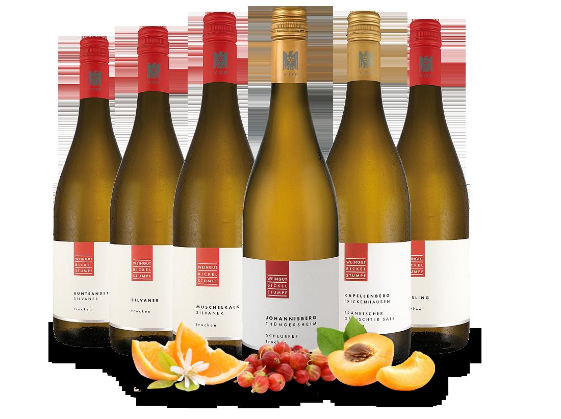 Kennenlernpaket Weingut Bickel-Stumpf aus Frank...