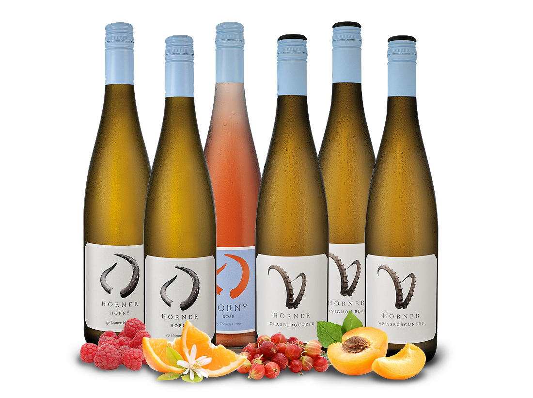 Kennenlernpaket Weingut Hörner - Jung und Wild10,00? pro l