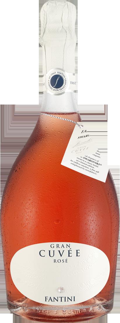 Roséwein Fantini Gran Cuvée Rosé Spumante Swarovski-Edition Basilikata 17,20€ pro l