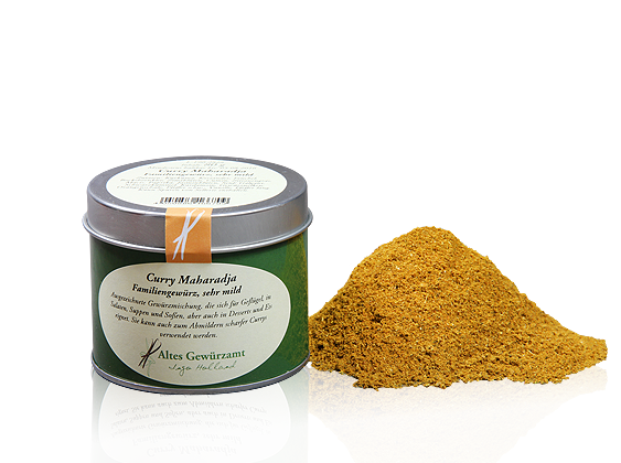 Curry Maharadja Gewürzmischung, 80g Dose