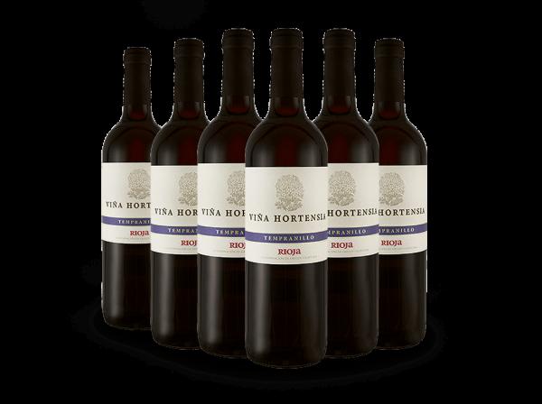 Vorteilspaket Viña Hortensia Rioja Tempranillo Preferido Tinto
