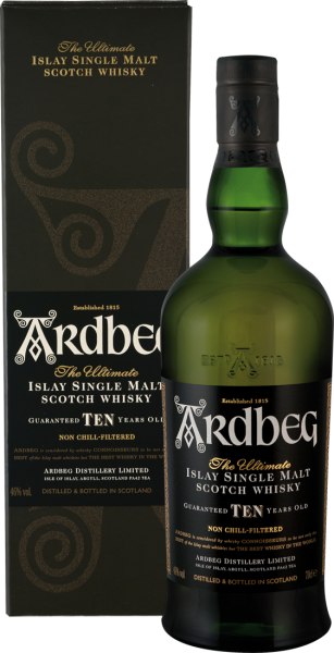 Ardbeg 10 Years Whisky 46% vol.