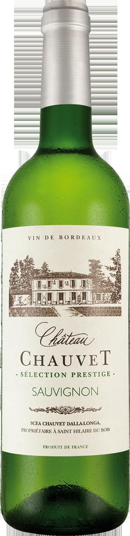 Weißwein Château Chauvet Bordeaux Blanc Sauvignon Blanc AOP Bordeaux 9,32€ pro l