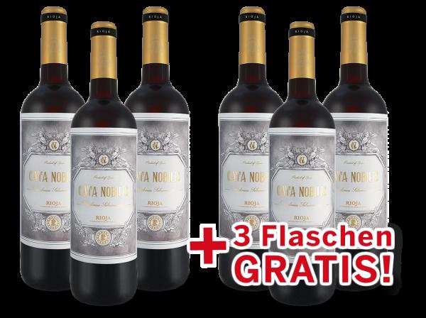 Vorteilspaket 6 für 3 Bodegas Nubori Rioja Cata Nobilis