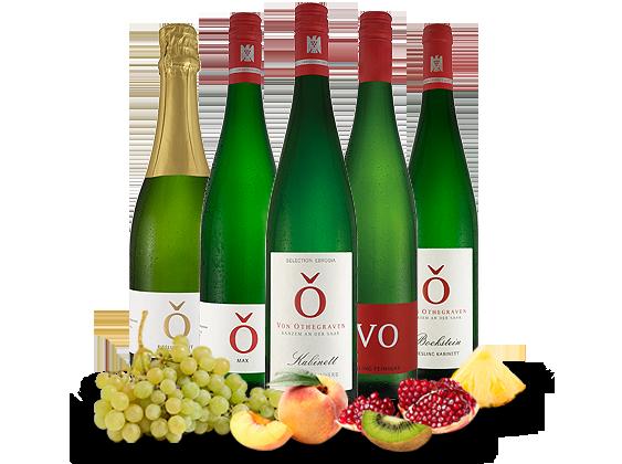 Kennenlernpaket 5 Fl. Weingut von Othegraven von der Saar14,91? pro l