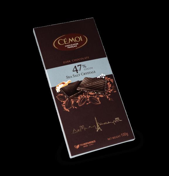 Cémoi Zartbitterschokolade 47% Kakao 100g