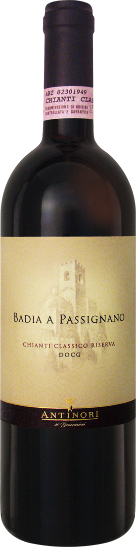 Rotwein Antinori Badia a Passignano Chianti Cla...