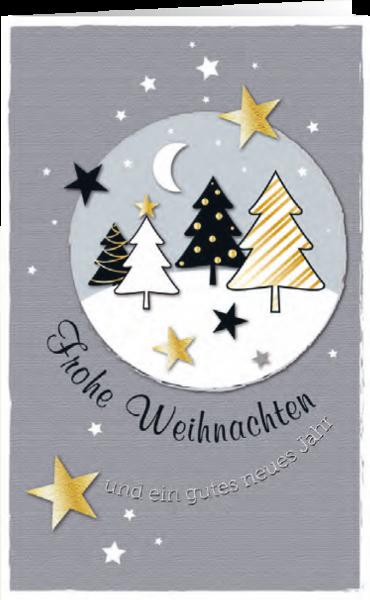 Grußkarte Zauber des Weihnachtsfestes
