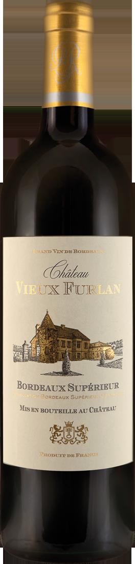Rotwein Château Vieux Furlan Bordeaux Supérieur AOC Bordeaux 10,65? pro l