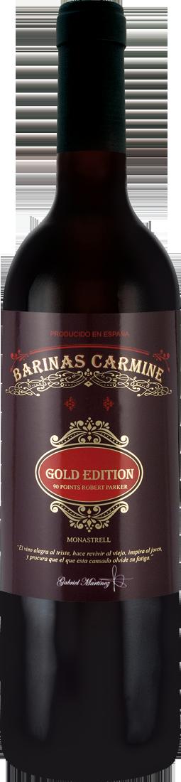 Rotwein Bodegas Crápula & Ianena Monastrell Barinas Carmine Gold Edition Jumilla DOP Jumilla 9,99€ pro l