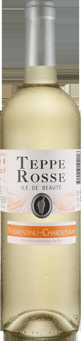 Weißwein Les Vignerons dAghione Chardonnay-Vermentinu Teppe Rosse Blanc Île de Beauté IGP Korsika 7,99? pro l