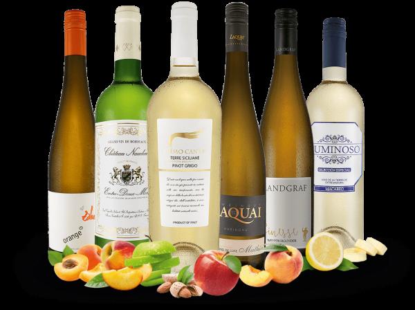 Probierpaket Lagerräumungs Weißwein-Klassiker