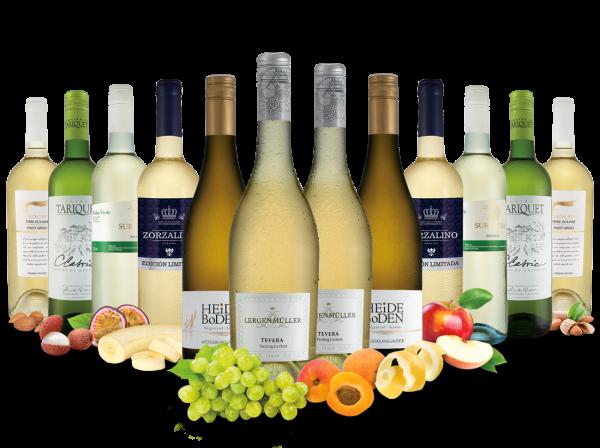 Best of Weißwein Entdeckerpaket