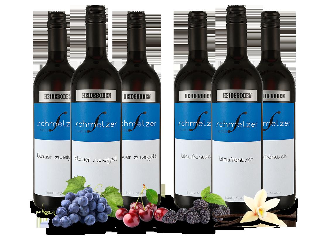 Klein Döbbern Angebote Vorteilspaket Blaufränkisch und Blauer Zweigelt vom Weingut Schmelzer11,09€ pro l