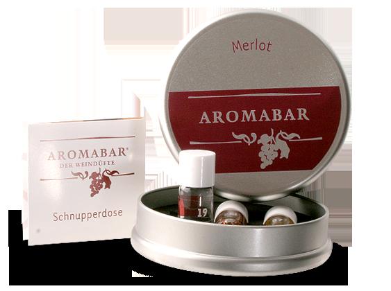 Aromabar Merlot Schnupperdose