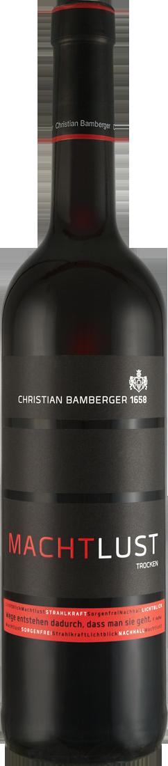 Rotwein Christian Bamberger Rotwein Machtlust N...