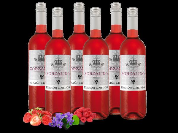 Probierpaket 6 Flaschen Viñaoliva Syrah Zorzalino Rosado