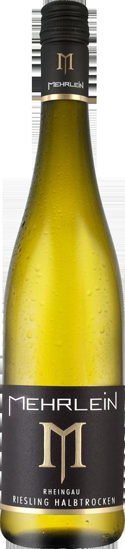 Weißwein Mehrlein Rheingau Riesling ´´Johannisberger Erntebringer´´ halbtrocken Rheingau 9,19€ pro l
