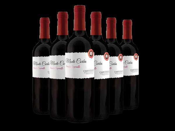 Vorteilspaket Aragonesas Monte Corba mit 6 Flaschen