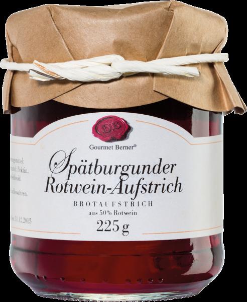 Gourmet Berner Spätburgunder Rotweinaufstrich 225g