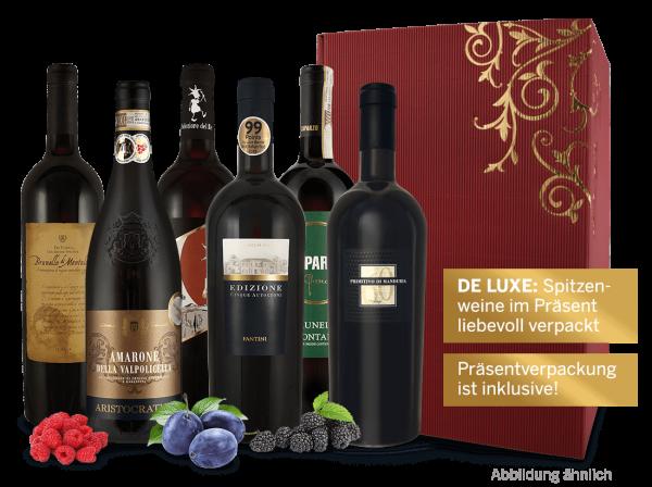 Präsent Italien De luxe: Spitzenweine von erstklassigen Weingütern