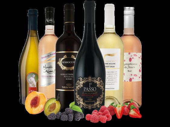 ebrosia-Bestseller im Frühlings-Weinpaket 2017