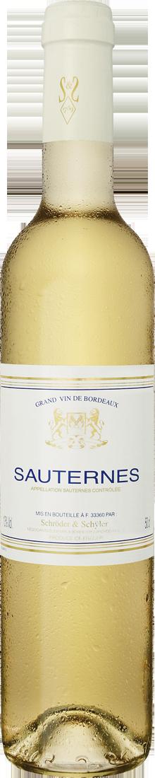 Weißwein Schröder & Schÿler Sauternes AOC 0,5l Bordeaux 23,80? pro l