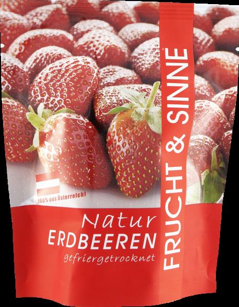 Frucht Sinne Naturfrüchte Erdbeeren 14g
