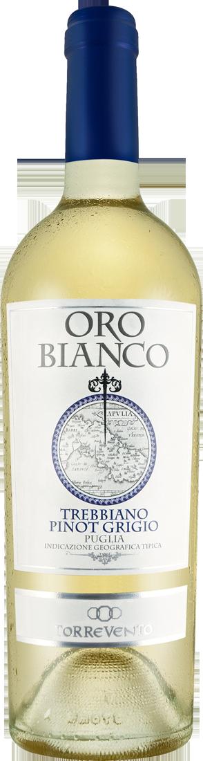 Weißwein Torrevento Trebbiano-Pinot Grigio Oro Bianco Puglia IGT Apulien 10,65? pro l