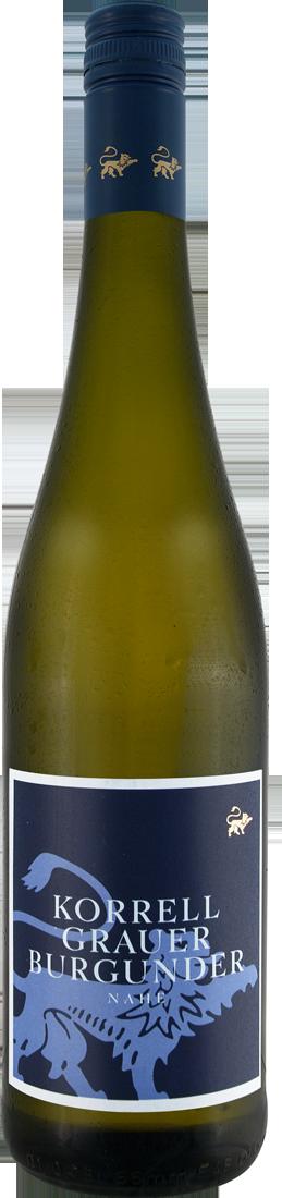 Weißwein Korrell Grauer Burgunder QbA Nahe 11,8...