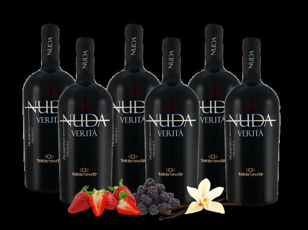 Vorteilspaket 6 Flaschen Torrevento NUDA VERITÀ