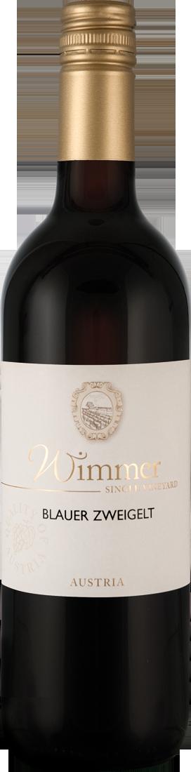Rotwein Wimmer Blauer Zweigelt Weinviertel 15,99? pro l