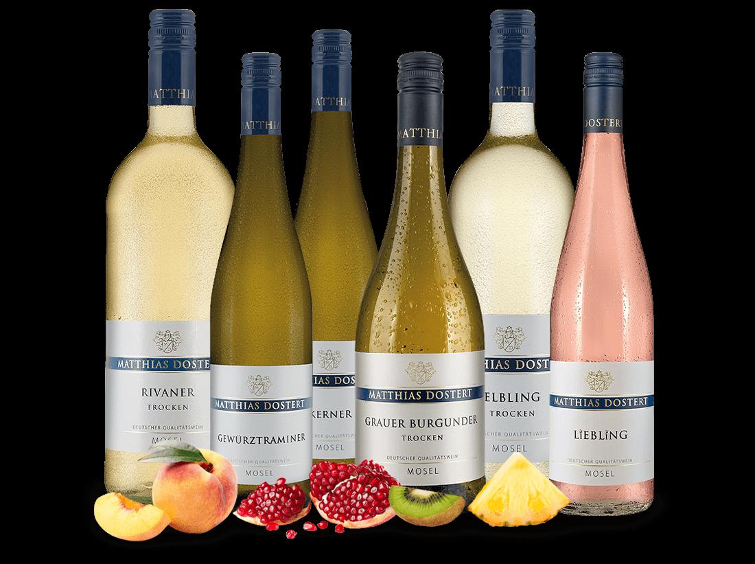 Kennenlernpaket Weingut Dostert von der Mosel7,04? pro l