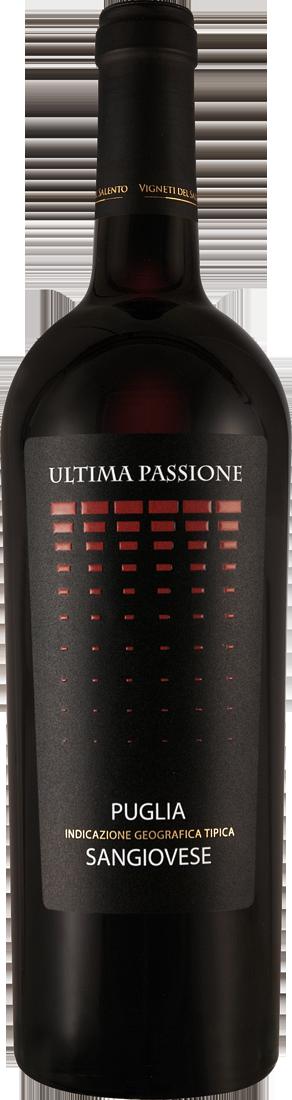 Rotwein Vigneti del Salento Sangiovese ULTIMA PASSIONE Apulien 9,19? pro l