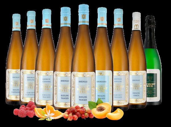 Kennenlernpaket Weingut Robert Weil Rheingau Rieslinge