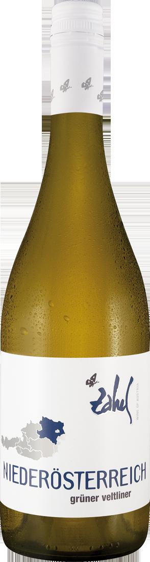 Weißwein Zahel Grüner Veltliner Niederösterreich Niederösterreich 10,12? pro l