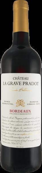 Château La Grave Pradot Cuvée Bellevue Bordeaux AOP