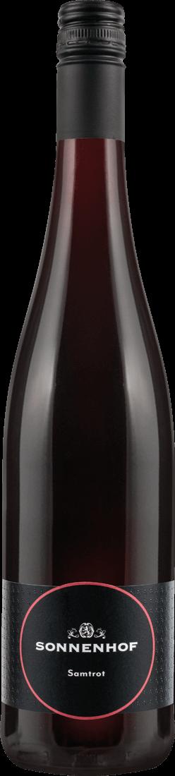 Rotwein Sonnenhof Samtrot mild QbA Württemberg 10,53? pro l