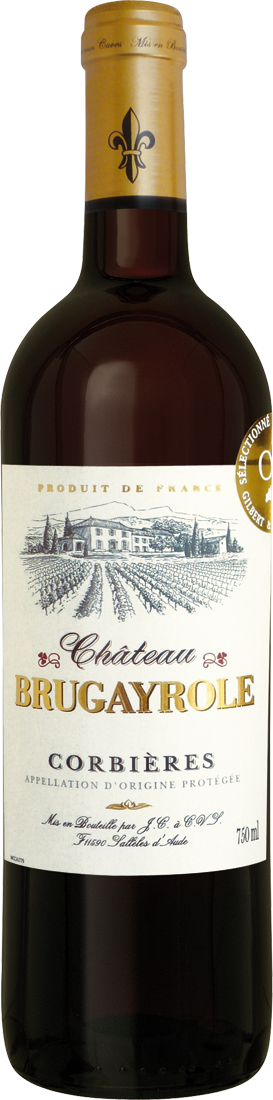 Rotwein Château Brugayrole Corbières AOP Languedoc 10,65? pro l