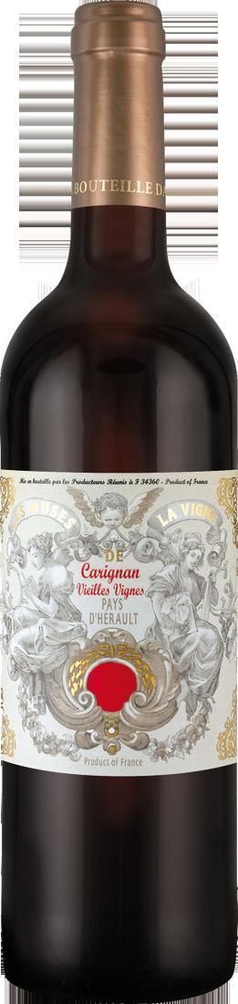 Les Producteurs Réunis Rotwein Muses de la Vigne Carignan Vieilles Vignes IGP Pays dHérault 9,19€ pro l´