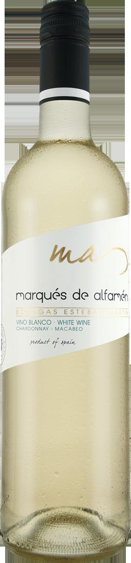 Weißwein Bodegas Esteban Martín Marqués de Alfamén Blanco DOP Cariñena 7,32? pro l