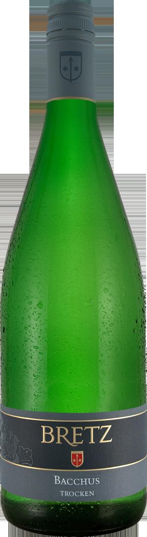 Weißwein Ernst Bretz Bacchus trocken 1,0l QbA Rheinhessen 6,99? pro l