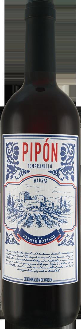 Rotwein Compañía de Vinos del Atlántico Tempranillo Pipón Vinos de Madrid D.O. Madrid 8,65? pro l