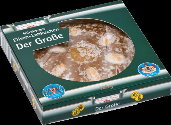 Der Große-Haeberlein-Metzger's größter Elisenlebkuchen 125 g
