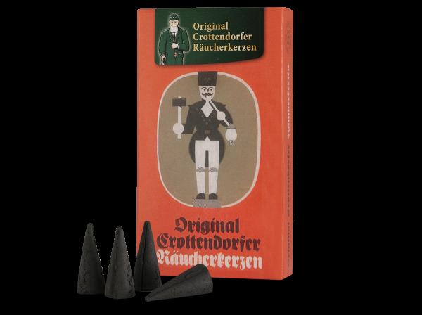 Original Crottendorfer Räucherkerzen Jubiläumsedition Weihnachtlicher Weihrauch
